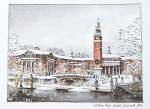 Withrow at Winter - Print